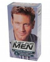 Shampoo colorante per uomo