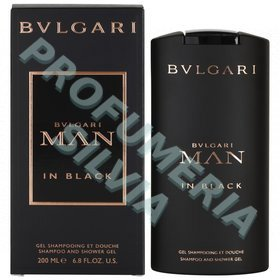 Bulgari Man In Black Shampoo Shower Gel