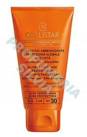 Face Cream Tan Global Anti-Edad protección SPF 30