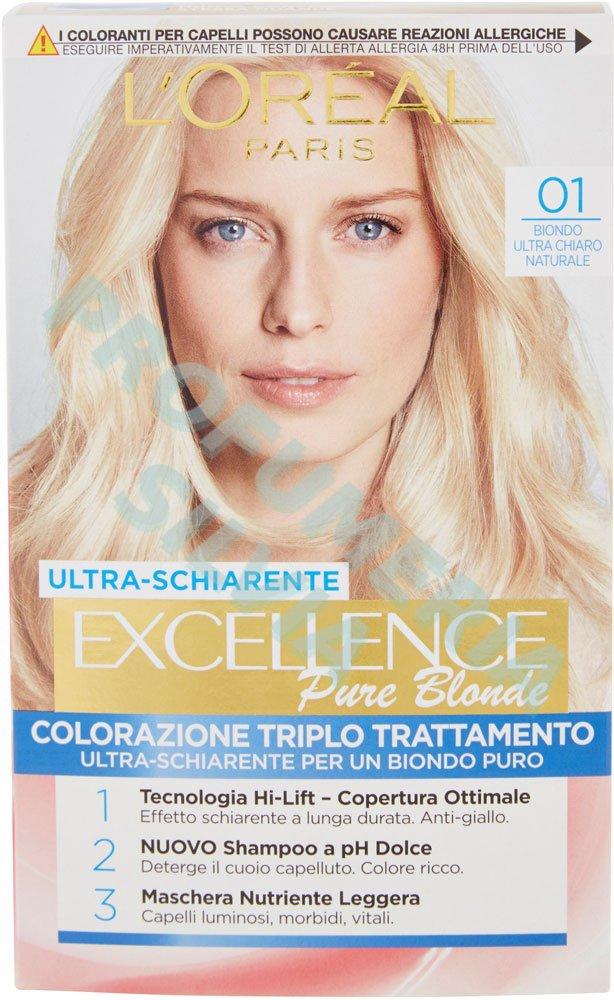Shampoo colorante biondo chiaro