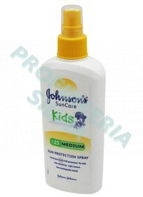 Johnson Niños Spray SPF 25 Medio