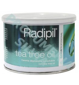 Radipil soluble depilatory waxing TEA TREE OIL