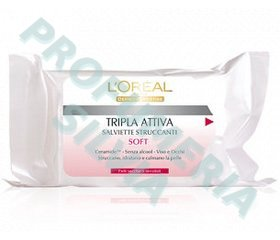 Soft Make-Up Remover Wipes - dry skin or sensitive