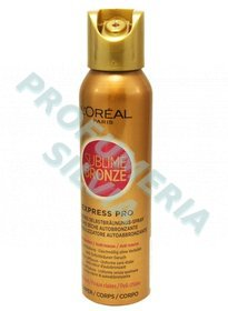 BRONCE SUBLIME Body Spray Autobronceador Express Pro seco