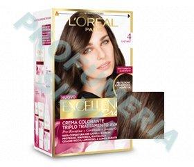 Shampoo colorante per capelli castani